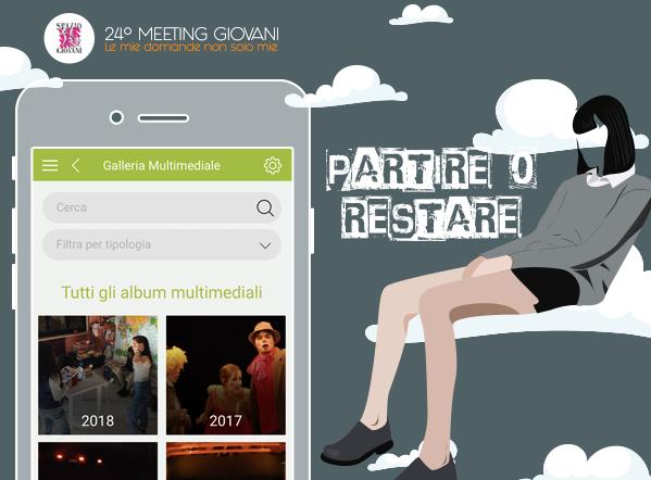 """L'app """"Spazio Giovani"""" si rinnova in occasione del 24° Meeting Giovani 2018"""