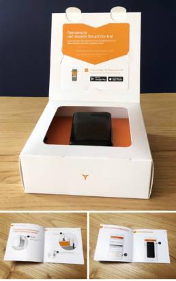 ST SmartControl packaging e libretti